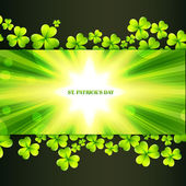 St patrick's day greeting — Vettoriale Stock
