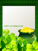 Saint patrick's day illustration — Stock Vector
