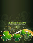 Saint patrick's day design — Stock Vector