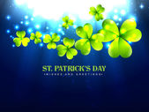 Stylish saint patrick's day — Stock Vector