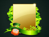 Vector st patrick's day design illustration — Stock Vector