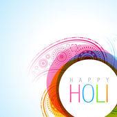 Holi festival — Stock Vector
