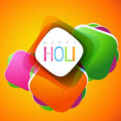 Holi festival background — Vettoriale Stock