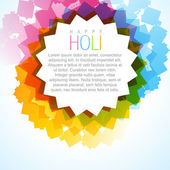 Holi festival background — Wektor stockowy