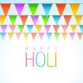 Traditional holi festival — Stock Vector
