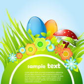 Easter banner design — Stock Vector