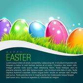 Easter background design — Stock Vector