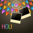 Holi background — Stock Vector