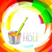 Holi festival background — Stock Vector