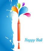Holi festival indio — Vector de stock