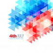 Abstract 4th of july design — Stock Vector #26373125