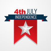4th of july vector — Wektor stockowy