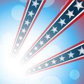 Amerikanischer unabhängigkeitstag-hintergrund — Stockvektor