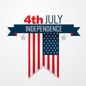 American independence day design — Stock Vector
