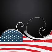 American independence day background — Stock Vector
