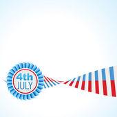 American flag vector design — Stock Vector