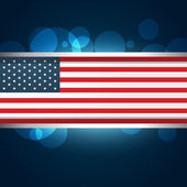American flag — Stock Vector