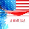 American independence day background — Imagen vectorial