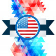 Stock Vector: 4th of july