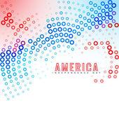 Amerykańskiego dnia niepodległości — Wektor stockowy