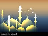 Islamskich meczetów — Wektor stockowy