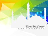 Beautiful islamic background — Stock Vector