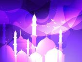 Eid festival background — Stock Vector