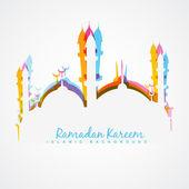 Ramadán kareem ilustrace — Stock vektor