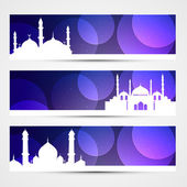 Eid banners — Stock Vector