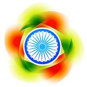 多彩的印度背景 — 图库矢量图片