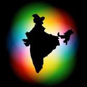 индийские карты дизайн — Cтоковый вектор