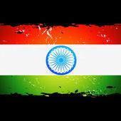 矢量印度背景 — 图库矢量图片