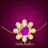Indian rakshabandhan background — Stock Vector