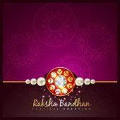 Raksha bandhan festival background — Stock Vector