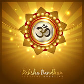 Hindu rakshabandhan festival — Stock Vector