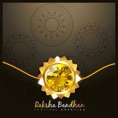 Raksha bandhan festival — Stock Vector