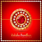 Raksha bandhan background — Stock Vector