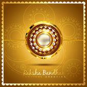 Stylish rakhi background — Stock Vector