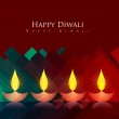 Artistic diwali background — Stock Vector #32285679