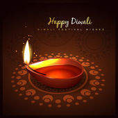 Diwali festival design — Stock vektor