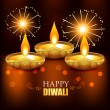 Beautiful diwali background — Image vectorielle