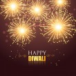 Happy diwali fireworks — Stock Vector #32931933
