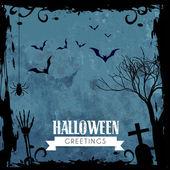 Creepy halloween design — Stock Vector