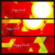 Diwali headers — Stock Vector #33948647