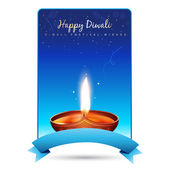 Happy diwali vector — Stock Vector