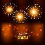 Diwali festival fireworks — Stock Vector #33955529