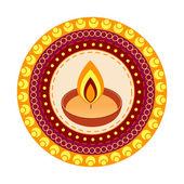 Indian diwali festival — Stock Vector