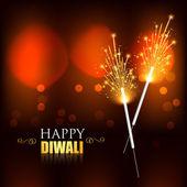 Diwali crackers — Stock Vector
