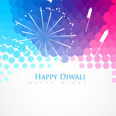 Happy diwali greeting — Stock Vector