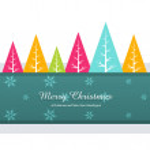 Colorful christmas greeting — Stock Vector #36803283